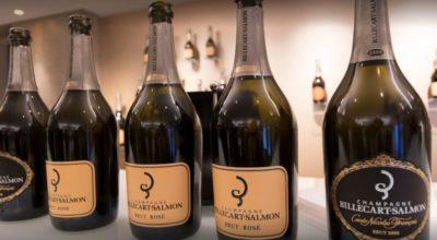 bouteilles de champagne Billecart-Salmon